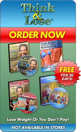 Think and Lose® - Order Now. Lose weight or you don't pay! Not available in stores.